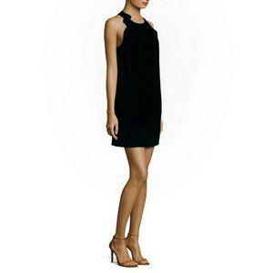 3.1 Phillip Lim scalloped shoulder black dress 2